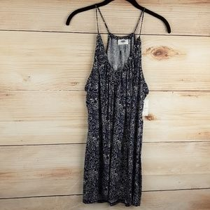 Old navy relaxed suspended navy print tank top
